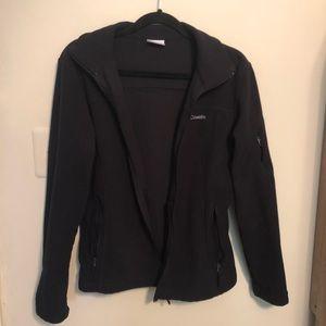Columbia Black Zip Jacket